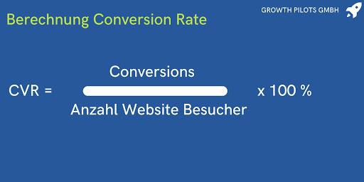 Berechnung Conversion Rate