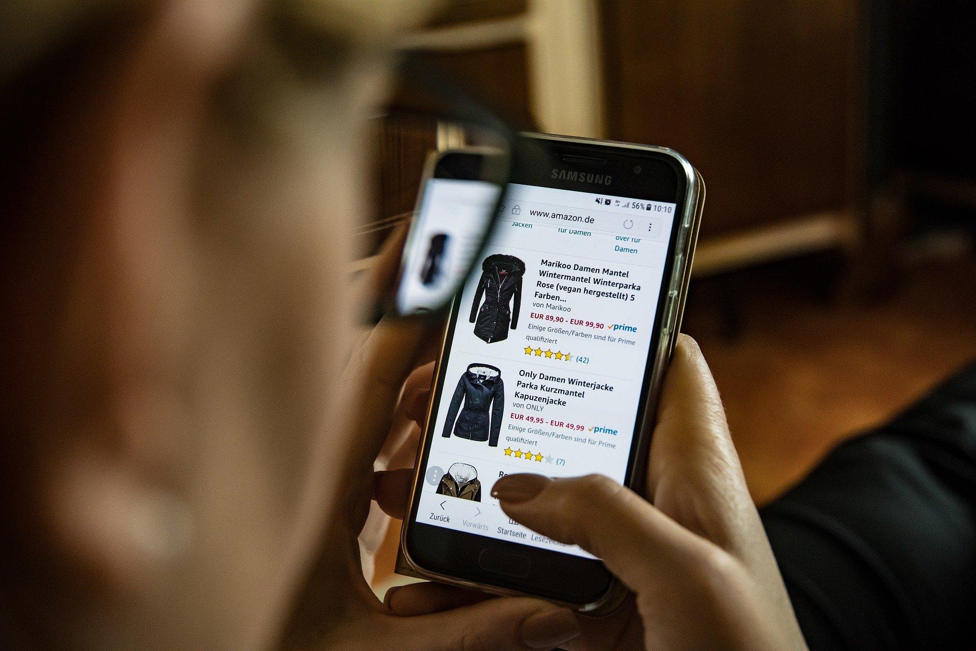 online shopping werbeanzeigen