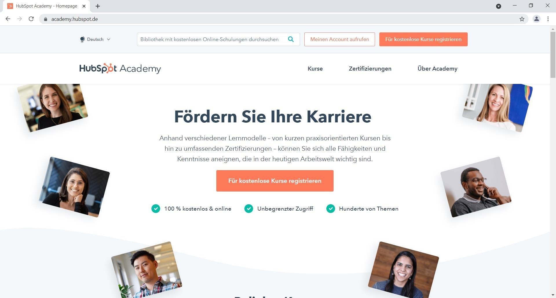 screenshot-hubspot-academy-homepage