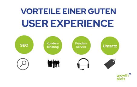 Vorteile user experience - seo, kundenbindung, kundenservice und umsatz